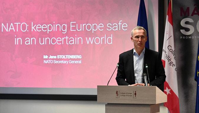 Столтенберг: ЕУ не може сама да ги заштити своите граѓани