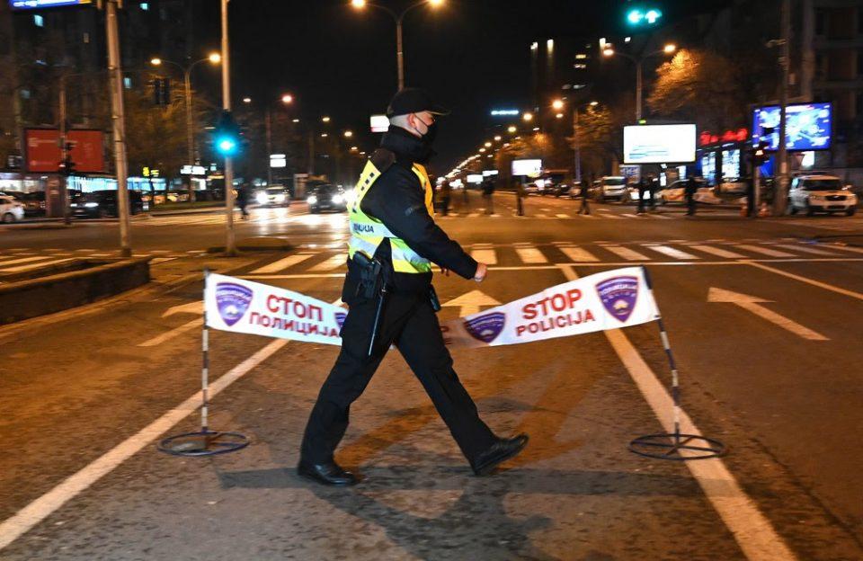 Помина првиот полициски час, 12 лица не ја почитувале забраната за движење